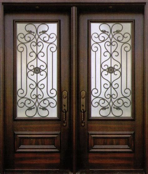 Decorative Front Doors Decorative Wrought Iron Front Doors Inserts Toronto 416 887 9391
