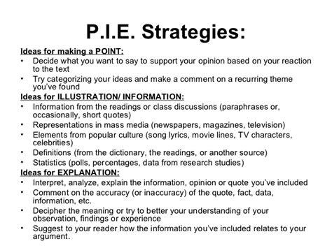 Of Pi Essay Topics by Pie Essay Format