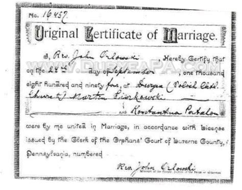 Marriage Records In Pa Speedyerogon