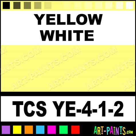 yellow white artist paints tcs ye 4 1 2 yellow white paint yellow white color genesis