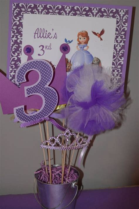 sofia the centerpiece sofia the centerpiece birthday decoration