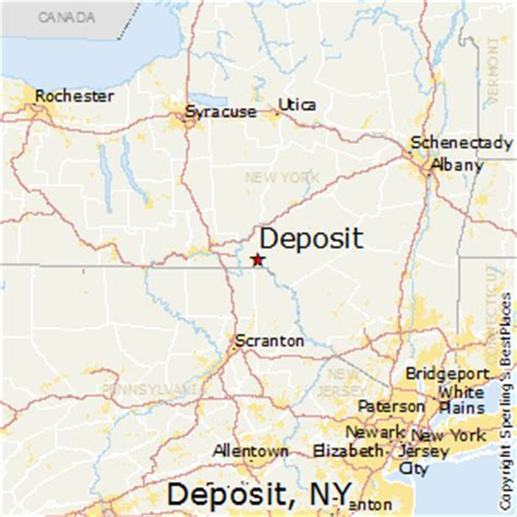 best places to live in deposit, new york