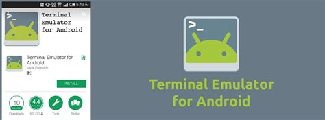 android terminal apk terminal emulator apk for android os 2017