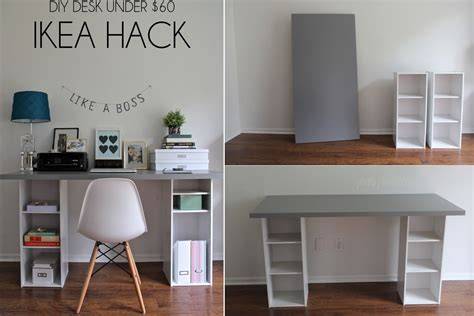 Small Desk Space Ideas Diy Desk Designs You Can Customize To Suit Your Style Desks Room And Ikea Desk