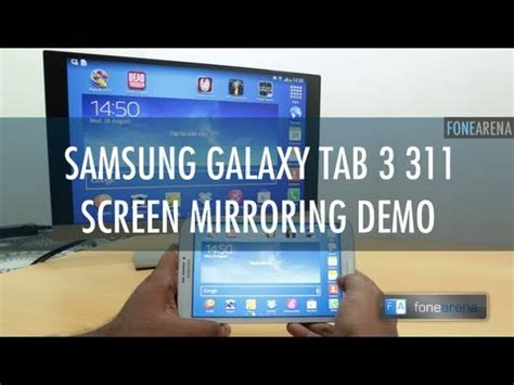 Samsung Tab 3 Multi Window Samsung Galaxy Tab 3 311 Screen Mirroring And Multi Window Demo How To Save Money And Do It