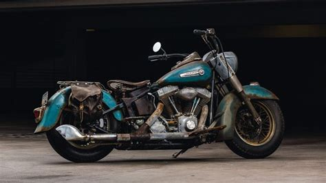Hair Style Kit Ride by 2006 Heritage Softail Custom Patina Rust Paint
