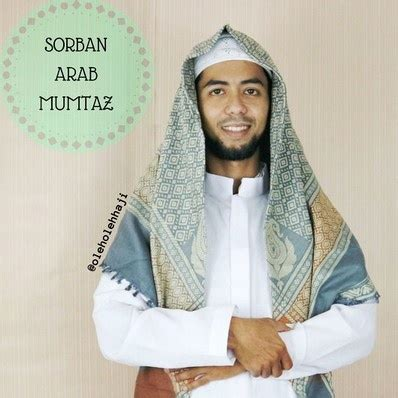 Sorban Putih Haji Arafat Sam05 sorban arab almas muntaz sorban surban keffiyeh shemagh haji oleh oleh haji