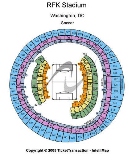 rfk stadium seating chart rfk stadium tickets and rfk stadium seating charts 2017