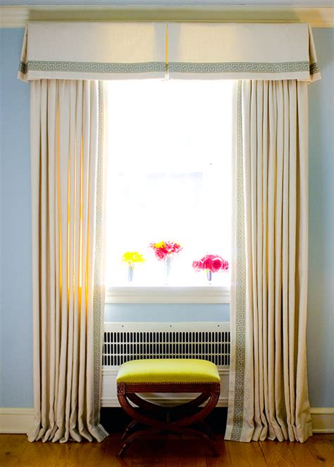 Trim On Curtains Decorating Key Drapes Design Ideas
