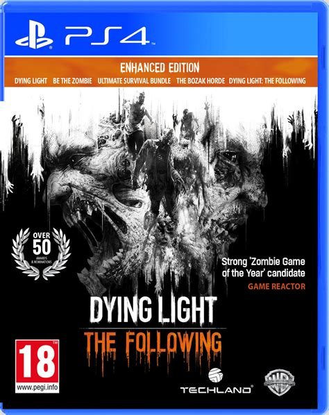 dying light console dying light the following enhanced edition ps4 new sealed