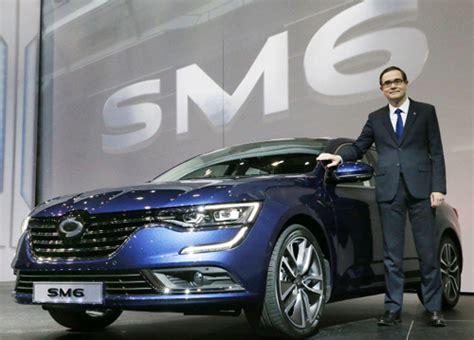renault sm6 renault reveals new sedan sm6 koogle tv