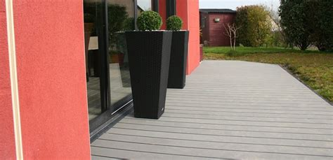 Dalle De Terrasse Sur Plot 1103 by Faire Une Terrasse En Composite Free Terrasse Composite