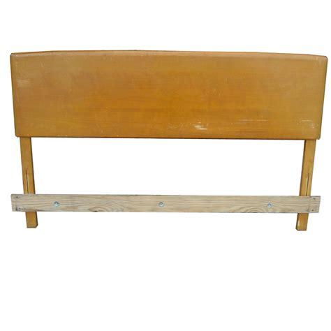 heywood wakefield headboard midcentury retro style modern architectural vintage