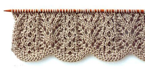 how do i add a stitch in knitting lace knitting stitch with wavy edge knitting kingdom