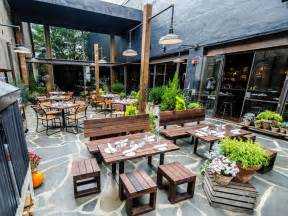 Restaurant Patio Dc S Hip Neighborhood Restaurants And Bars Washington