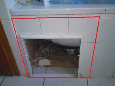 comment faire une trappe de visite pour baignoire fabrication trappe de visite