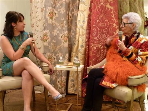 brie dyas iris apfel at stark carpet
