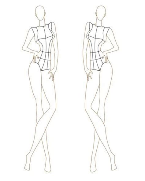 best 25 fashion design template ideas on pinterest