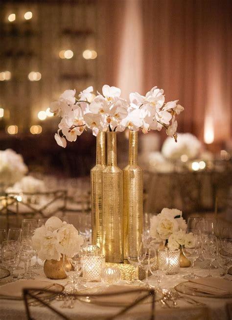 gold wedding decoration ideas