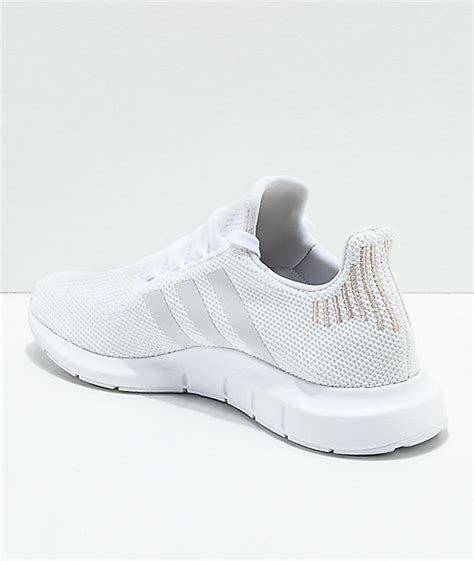 adidas white gold shoes zumiez