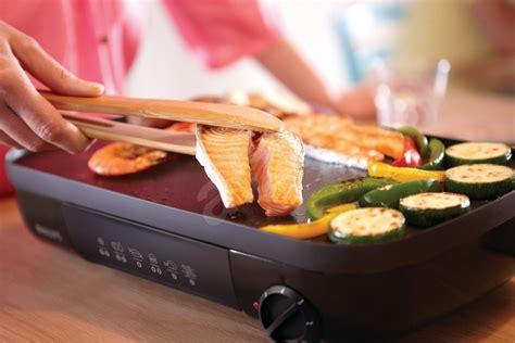 Pemanggang Listrik Table Grill Philips Hd 6321 philips hd6321 20 electric grill alzashop