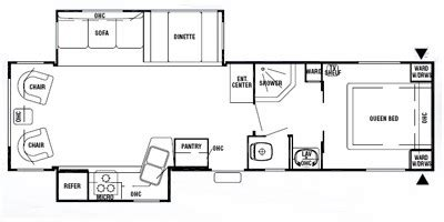 silverback rv floor plans units available for 2008 forest river cedar creek
