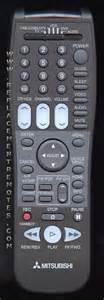 Mitsubishi Remote Codes Buy Mitsubishi 290p106a10 290p106010 Tv Remote