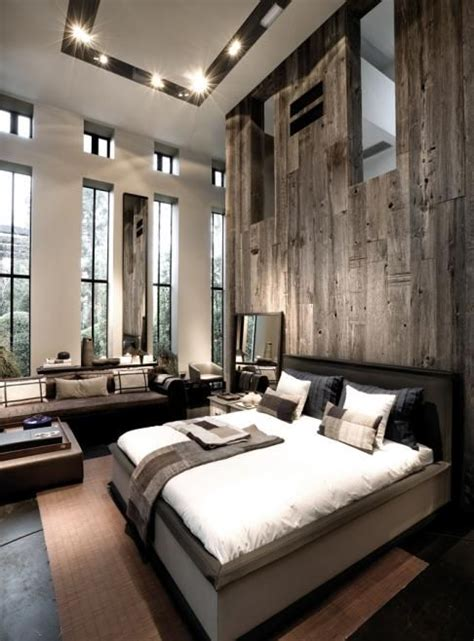 modern rustic bedroom best 25 rustic modern cabin ideas on pinterest house