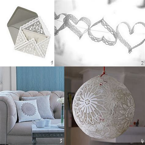 doily craft projects diy lace and doilies s day crafts or diy