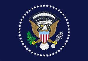 file flag of the president of the united states of america