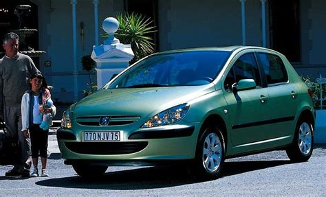 peugeot europe europe 2002 vw golf only 500 units above the peugeot 206