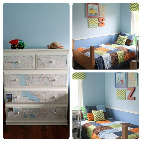 Think this twin boys bedroom is darling from 3 four and under