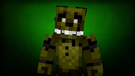 minecraft freddys nights at five five nights at freddy s 3 map 1 8 minecraft project