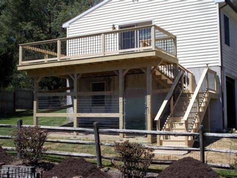 idea starters deck construction decks   diy dog