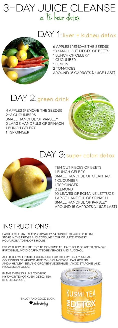 2 Day Detox Liquid Diet by Three Day Juice Cleanse Dash Of 3 Day Juice