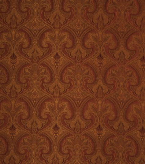 home decor print fabric eaton square redwood