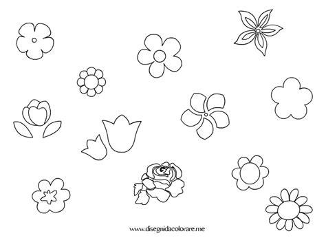 disegno fiore stilizzato fiori piccoli disegni da colorare