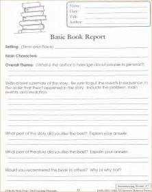 4th Grade Book Report Templates 5 4th Grade Book Report Template Printable Receipt