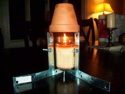 como calentar tu cuarto con velas y macetas en invierno