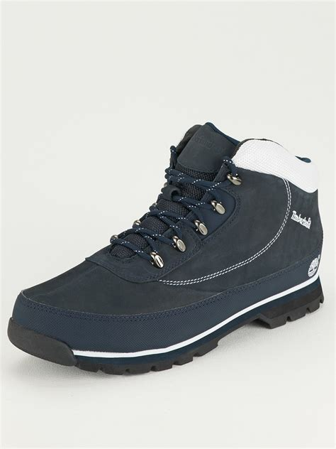 mens blue boots timberland timberland brook mens hiker boots navy in