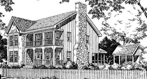 stone and cedar house plans stone cedar farmhouse philip franks southern living house plans