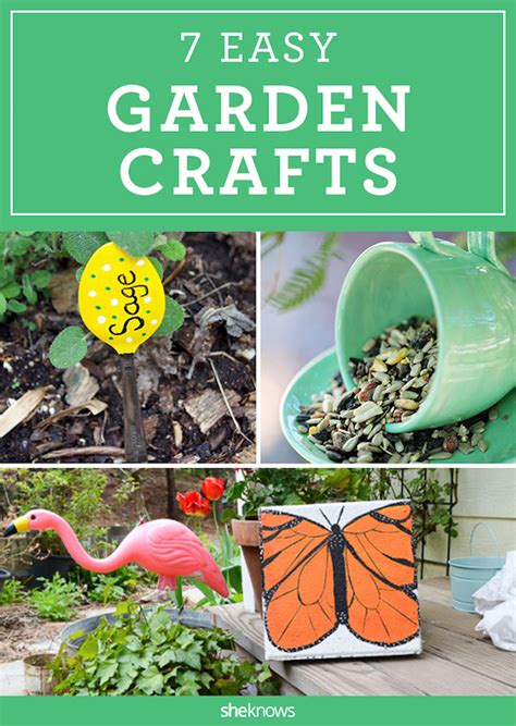 easy garden crafts 7 diy garden crafts to put a in your backyard s
