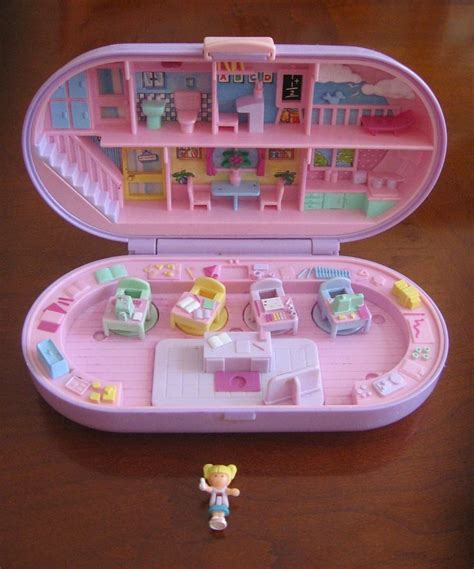 Boneka Vintage Polly Pocket vintage polly pocket bluebird schoolhouse ster with 1