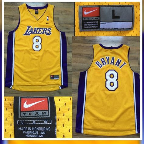 Jersey Authentic Nike Bryant Lakers Black Nba Stitched Jersey Sz nike nike nba bryant 8 lakers jersey from devin s closet on poshmark