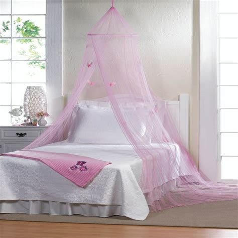 Pink Canopy Bed Pink Butterfly Bed Canopy Bedroom Bed Baby Sweet Mosquito Bug Netting New S Ebay