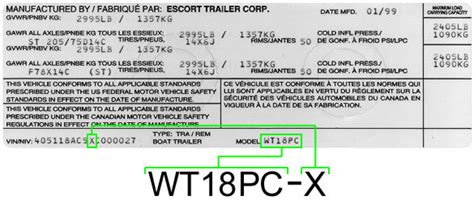 where is the vin number on a boat trailer vin number location on boat wiring diagrams image free