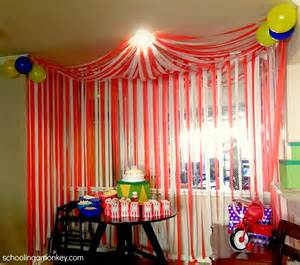 Diy Carnival Themed Decorations - carnival party ideas circus party ideas at birthday in a box