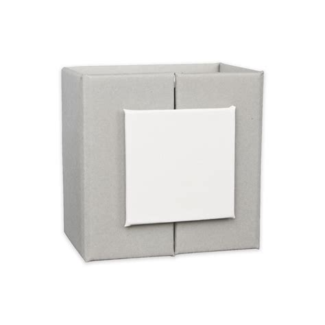 Ring Kotak 3 Cm magnetized gift box for ring 5x5x3 5 cm grey white x1 perles co