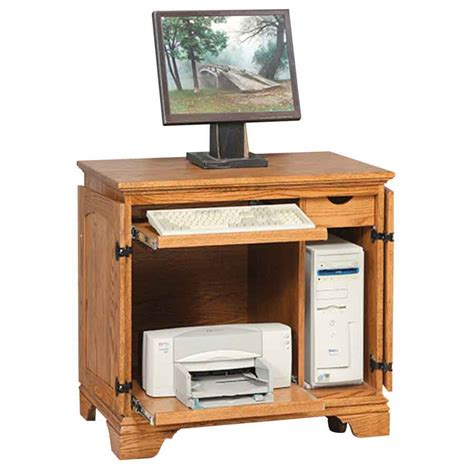 Miniature Petite Computer Armoire Amish Crafted Furniture Computer Armoire For Sale