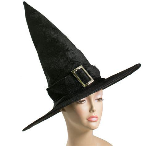 17 5 quot velvet witch hat black 3110 329a craftoutlet com